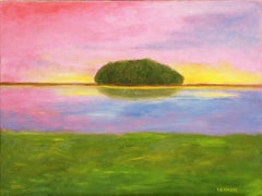 Cockenoe Island, Painting, Oil on Canvas