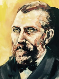 Portrait of van Gogh, Painting, Oil on Canvas