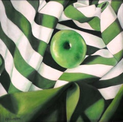 Green on Green, Painting, Acrylic on Canvas