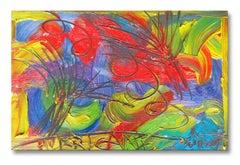 HURRICANE, Painting, Oil on Wood Panel