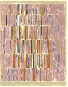 """Ellepol Cesar-XXe Siecle no. 16-12.25"""" x 9.5""""-Lithograph-1961-Multicolor, Pink"""