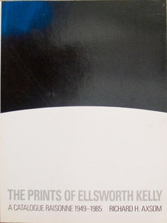 "The Prints of Ellsworth Kelly A Catalogue Raisonne 1949-1985-12"" x 9""-Book-1987"