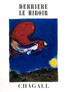 "Marc Chagall-Derriere Le Miroir no. 27-28 Cover-15"" x 11""-Lithograph-Modernism"
