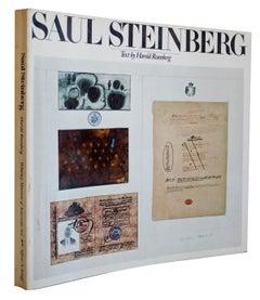 "Saul Steinberg-10.5"" x 10.5""-Book-1978-Modernism"