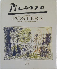 """Picasso in his Posters - Image and Work, Volume II-12.25"""" x 9.75""""-Book-1992"""