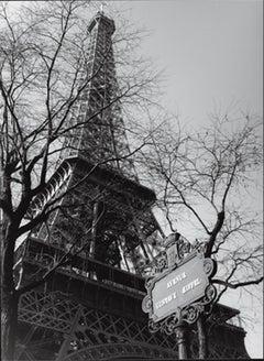 """Heiko Lanio-Eifel Tower, Paris-72"""" x 54""""-Poster-2000-Photography"""
