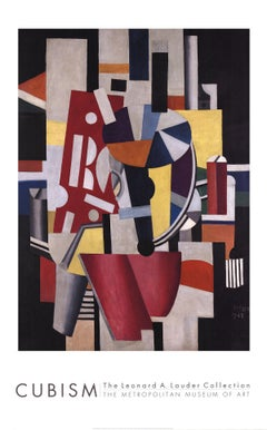 """Fernand Leger-Composition (The Typographer)-78"""" x 47.75""""-Poster-2014-Modernism"""