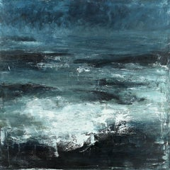 Seascape 2018-07-31, Painting, Oil on Canvas