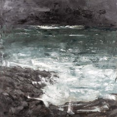 Seascape 2019-01-14, Painting, Oil on Canvas