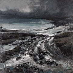 Seascape 2019-01-11, Painting, Oil on Canvas