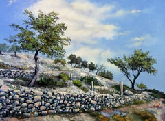 Remembering Gargano, Painting, Oil on Canvas