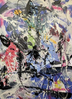 Ocean Debris No 2, Mixed Media on Canvas
