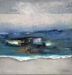 Splash, Painting, Acrylic on Canvas
