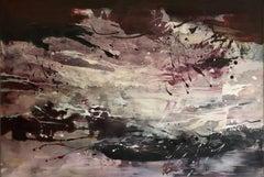 Moonlight Splash, Painting, Acrylic on Canvas