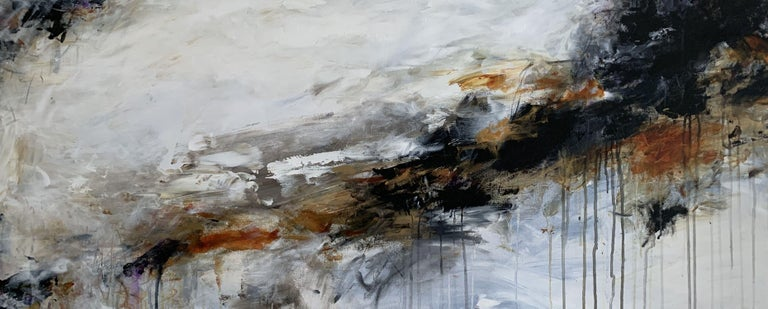 Darlene Watson Abstract Painting - Sometime In Autumn, Painting, Acrylic on Canvas