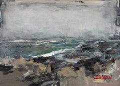 Seascape 2019-06-07, Painting, Oil on Canvas