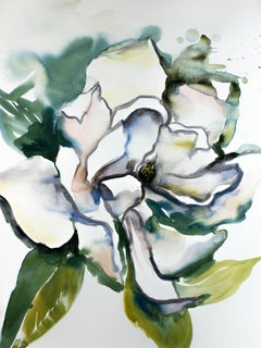 Magnolia No. 27, Painting, Watercolor on Watercolor Paper