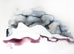The Tide, Painting, Watercolor on Watercolor Paper