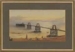 William Arthur Earp (1867-1927) - Fine Watercolour, Chain Pier Brighton