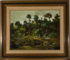 Miguel Rey - Framed Contemporary Oil, The Forest