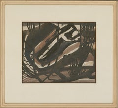 Reginald James Lloyd (b.1926) - 1965 India Ink, The Abstracted Forest