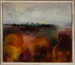 John Ivor Stewart PPPS (1936-2018) - Framed 20th Century Oil, Bog, North Derry