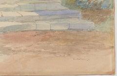 James Vivien de Fleury (1847-1902) - Late 19th Century Watercolour, El Paradiso