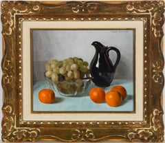 Jaques Blanchard (1912-1992) - Framed Mid 20th Century Oil, Still Life with Jug