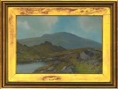 Reginald Daniel Sherrin (1891-1971) - 20th Century Gouache, Dartmoor Landscape
