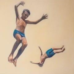Flight, Painting, Oil on Canvas