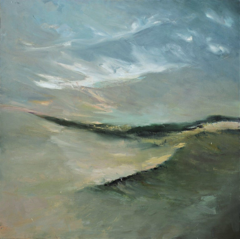 Kim McAninch Abstract Painting - DUNES LXXI, Painting, Oil on Canvas