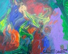 Prometheus, Painting, Acrylic on Canvas
