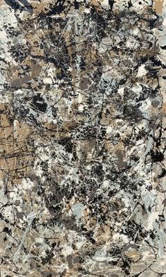 Stardust  #2, Mixed Media on Canvas