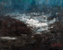 Seascape 2019-06-06, Painting, Oil on Canvas