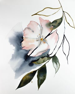 Cherry Blossom No. 12, Painting, Watercolor on Paper