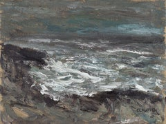 Seascape 2019-01-03, Painting, Oil on Canvas