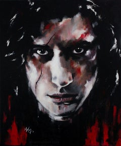 Kylo Ren (CHARACTER SERIES), Painting, Acrylic on Canvas