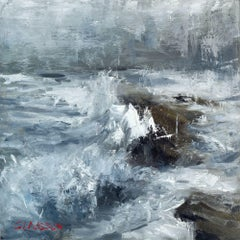 Seascape 2019-09-19, Painting, Oil on Canvas