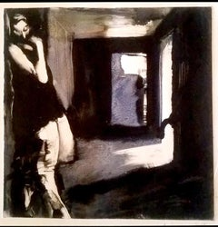Sleepwalking at the Olcott, mystery monochromatic narrative noir