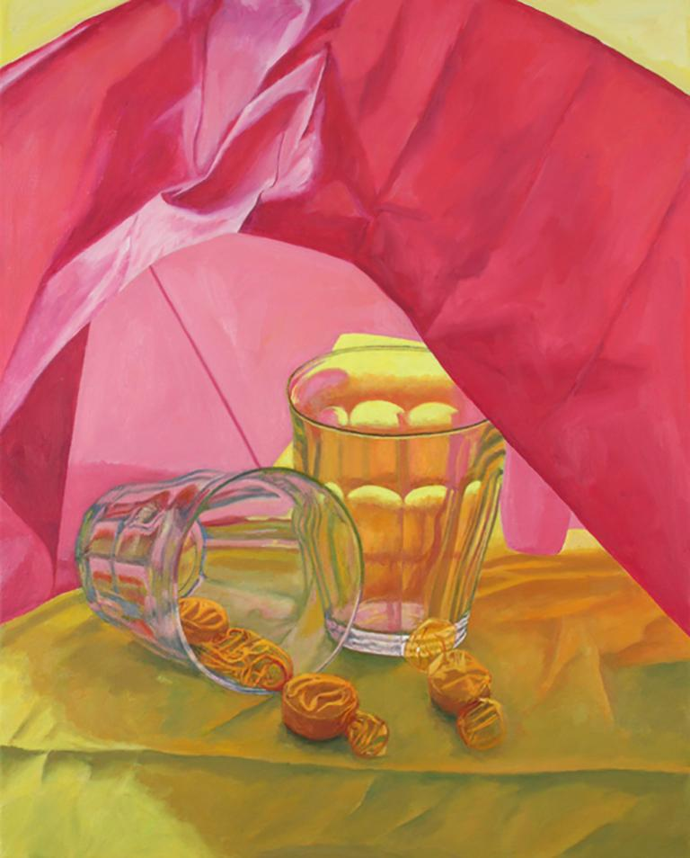 Two Picardie Glasses, colorful, photo realistic