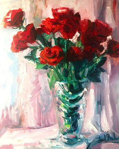 Valentine's Day, Painting, Oil on MDF Panel