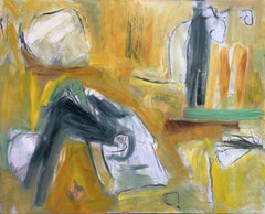 Cat and Mouse, Painting, Oil on Canvas