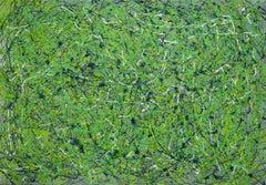 Go Green, Painting, Acrylic on Canvas