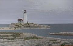 The Lighthouse, Painting, Acrylic on Canvas