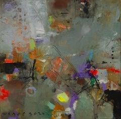 Jungle Art 2, Painting, Oil on Canvas