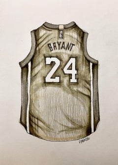 Kobe, Drawing, Pen & Ink on Paper