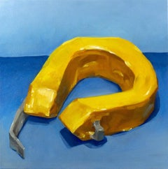 """""""HELP YOURSELF BEFORE HELPING OTHERS"""", Painting, Yellow Life Jacket, Disaster"""