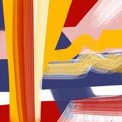 """OVERHEAD LIGHTS 04282018 158am"", Abstract, Digital Print,"