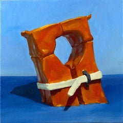 """""""RISING TIDES USED TO BE A GOOD THING"""", Painting, Oil on Canvas, Disaster, Humor"""