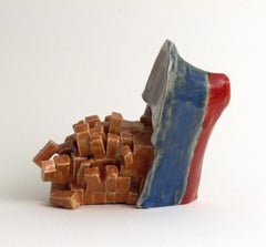 """""""CALL NOW WHILE SUPPLIES LAST"""", Ceramic Sculpture, Sinking Ship, Disaster, Humor"""